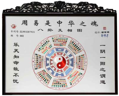 苏绣八卦爻相图